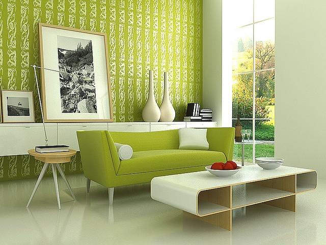 salon na zielono